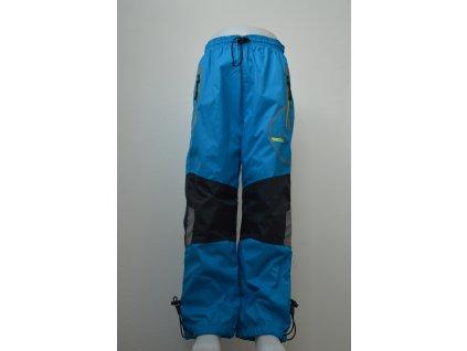 Chlapecké šusťákové kalhoty Kugo - světle modré