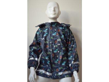 Chlapecká nepromokavá bunda Kugo - motiv bagru