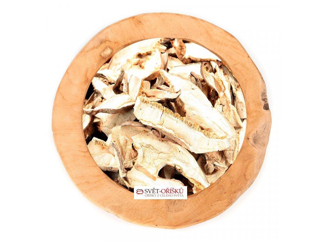 Houževnatec jedlý Shiitake - sušené plátky