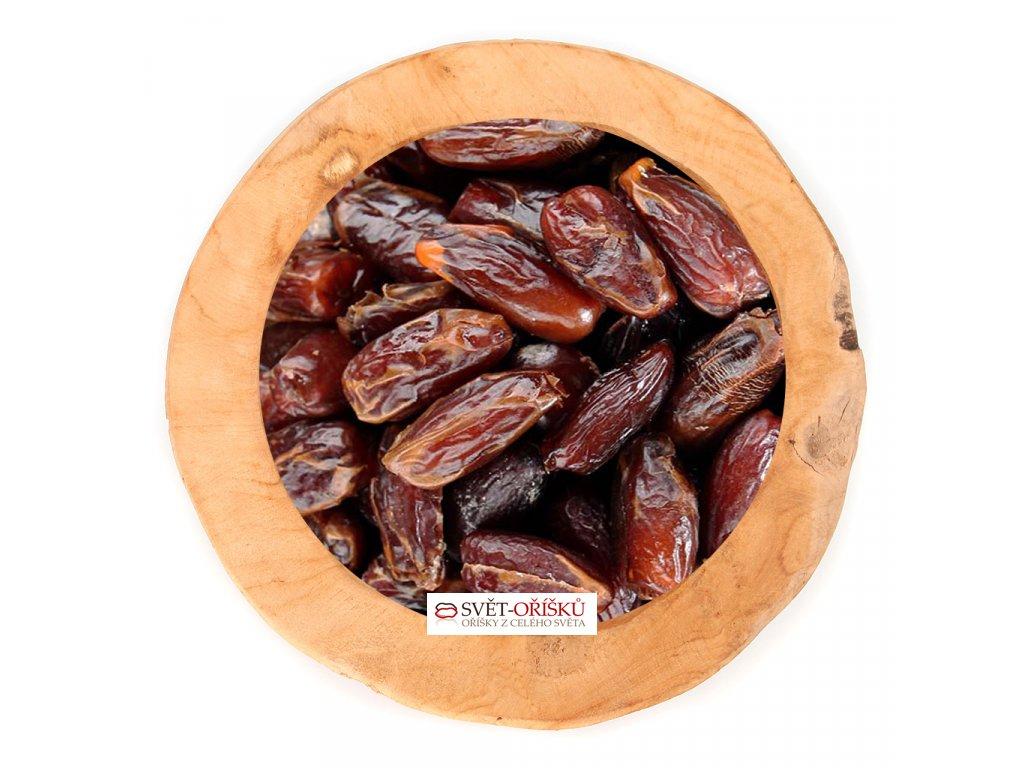 Datle sušené bez pecky - Deglet Nour bez cukru a SO2 nesířené