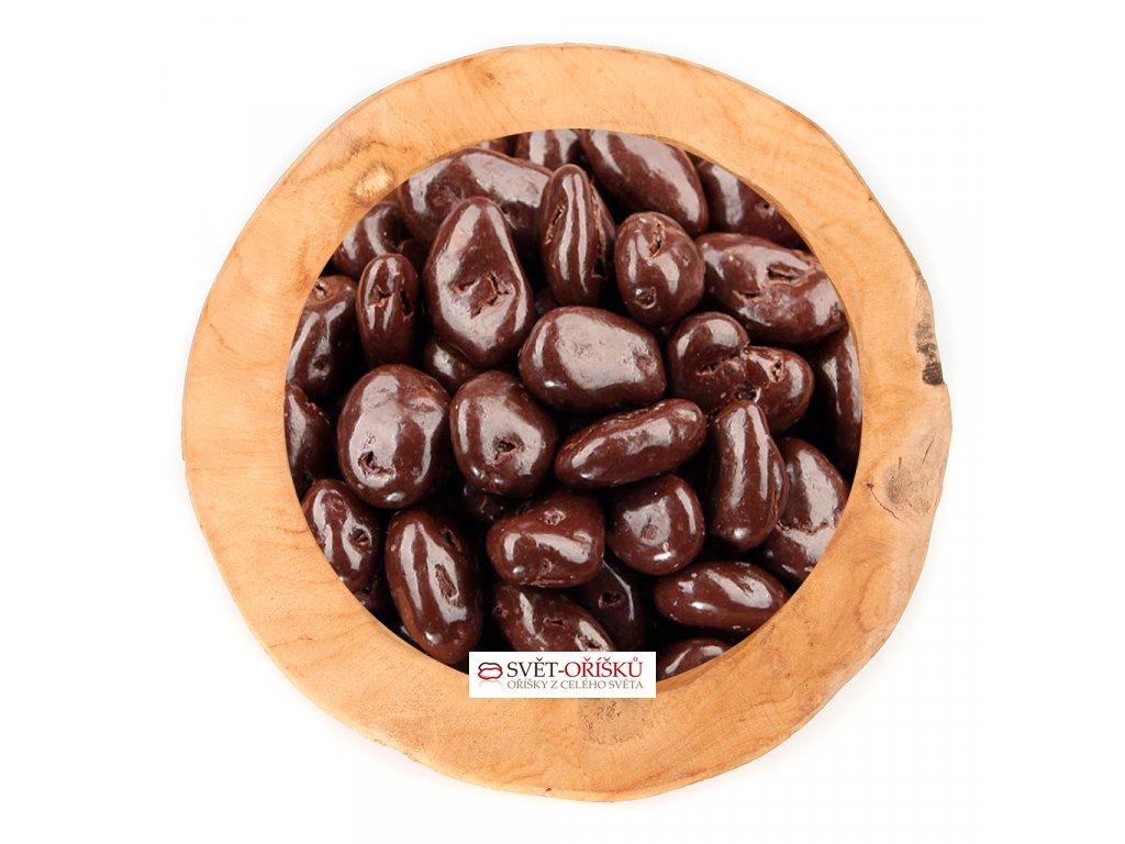 Datle v polevě z hořké čokolády