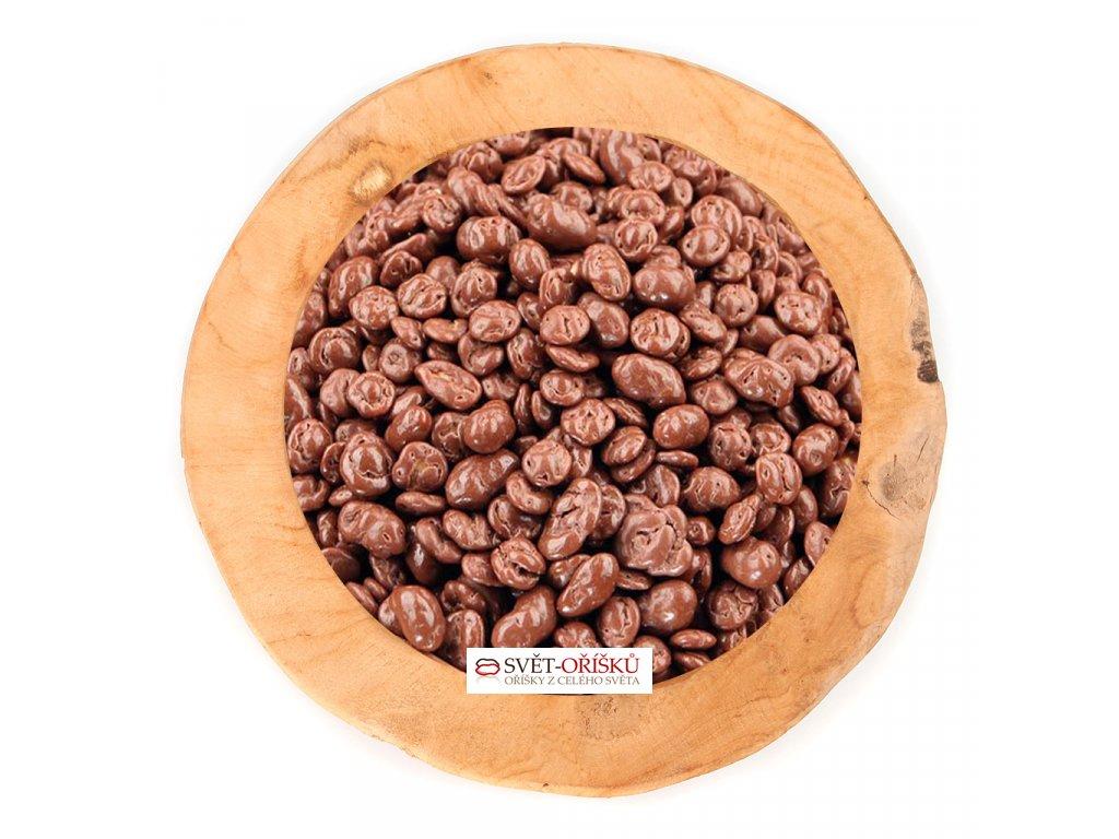 Arašídy s corn flakes v mléčné čokoládě