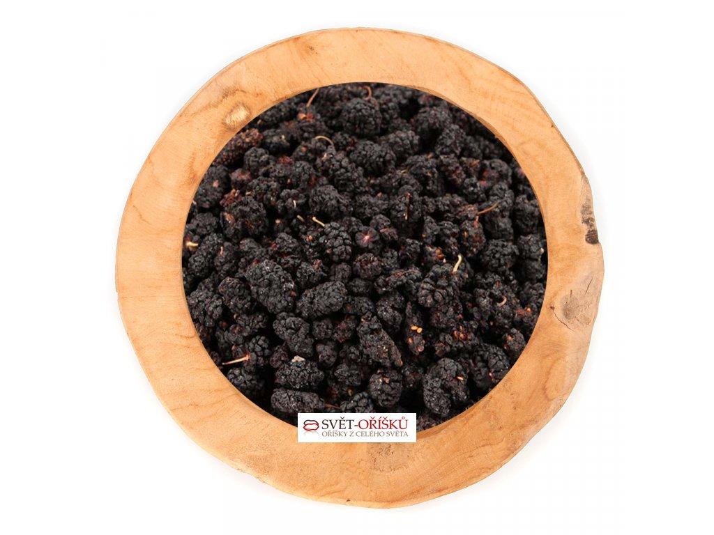 Moruše černá bez přidaného cukru a SO2 nesířené natural