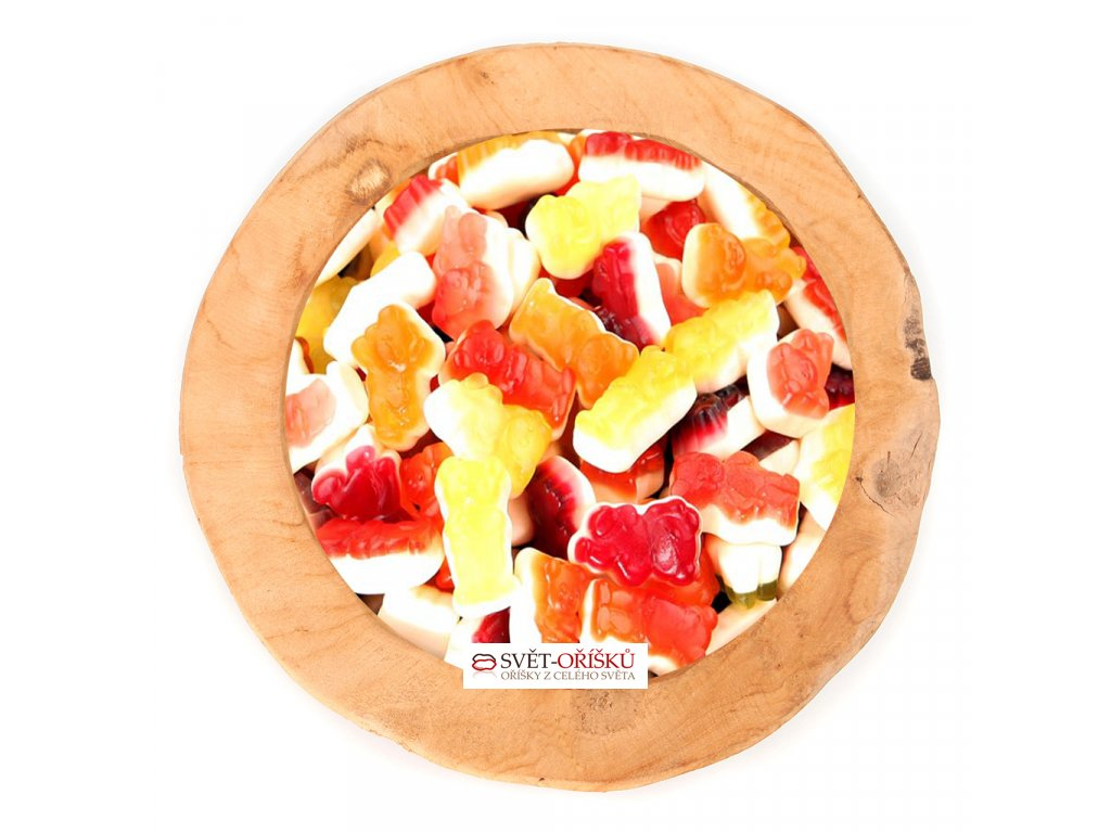 Medvědí HARIBO s 20% ovocnou šťávou