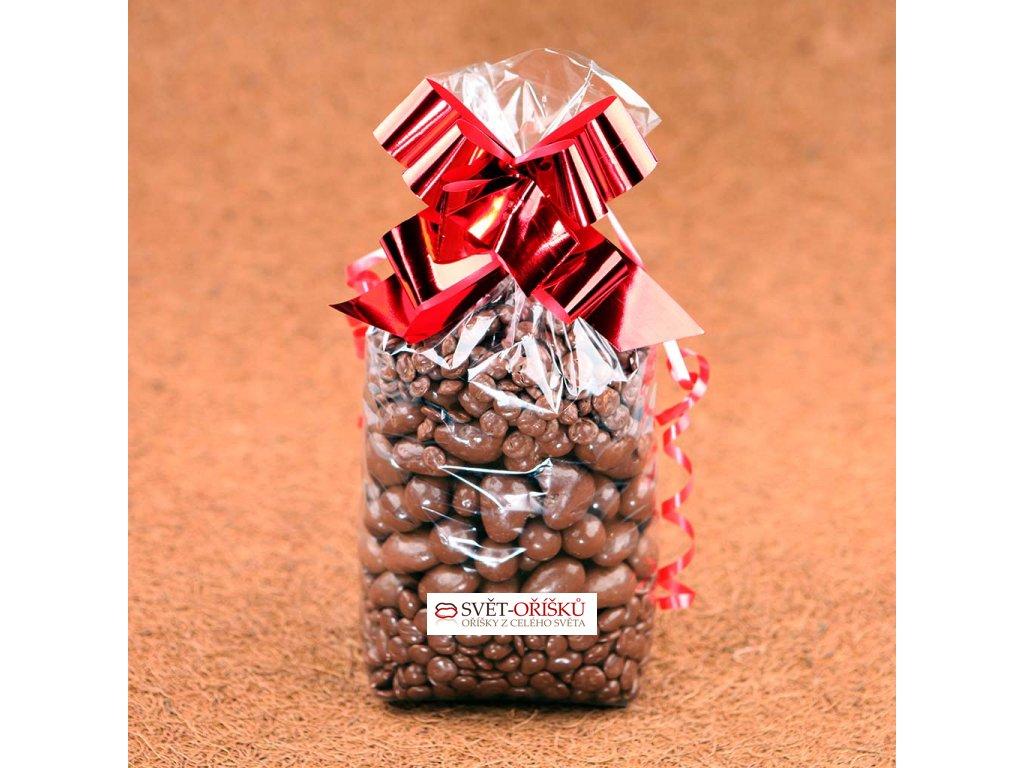 Dárkový sáček 1kg Oříškový - mléčná čokoláda 5
