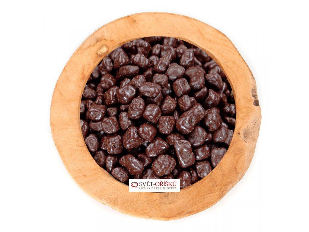 Pomerančová kůra v polevě z hořké čokolády
