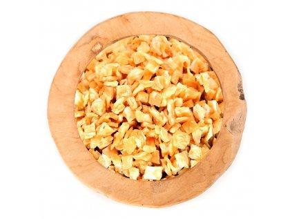 Ananas kostky 8-10mm bez přid. Cukru a SO2 nesířený, natural