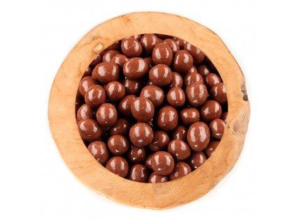 Lísková jádra v polevě z mléčné čokolády