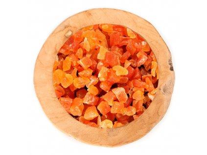 Cantaloupe kostky bez přidaného cukru a SO2 nesířené natural