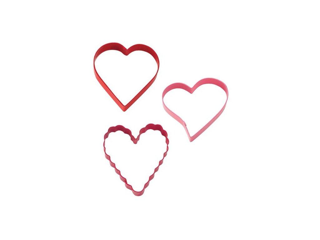 Vykrajovátka - Srdce (3 ks)