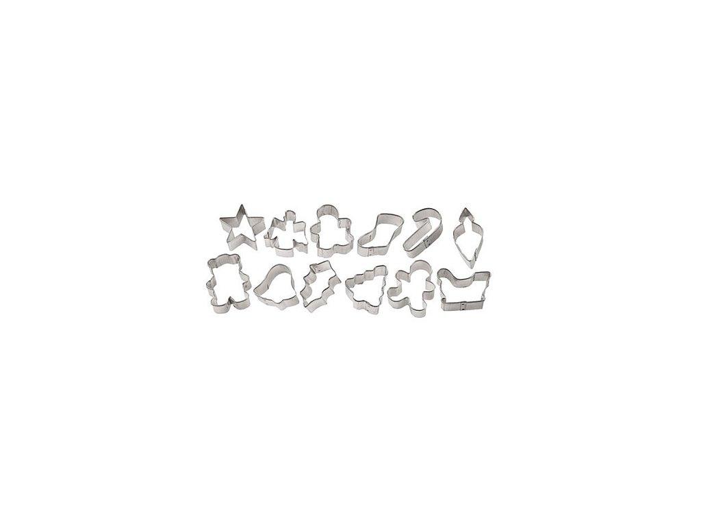 Vykrajovátka - Vánoce mini (12 ks)