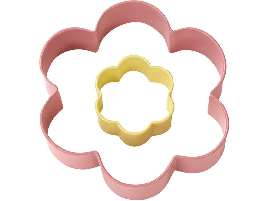 Vykrajovátko - Květina (2 ks)