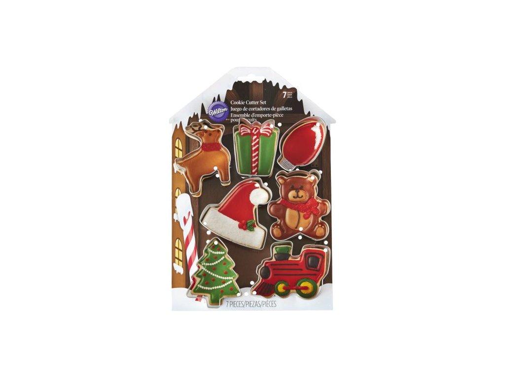 Vykrajovátka - Vánoční sušenky (7 ks)