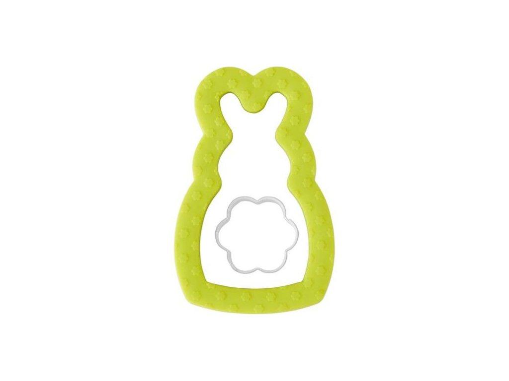 Vykrajovátka - Zajíček a kytička (2 ks)