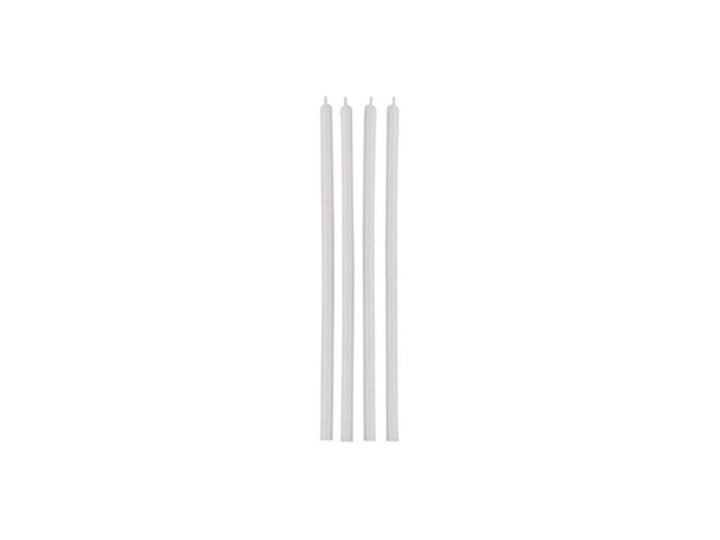 Svíčky Wilton - Dlouhé bílé (12 ks)