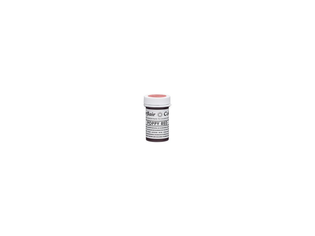 Tartranil Paste Concentrate 25g Poppy Red resized