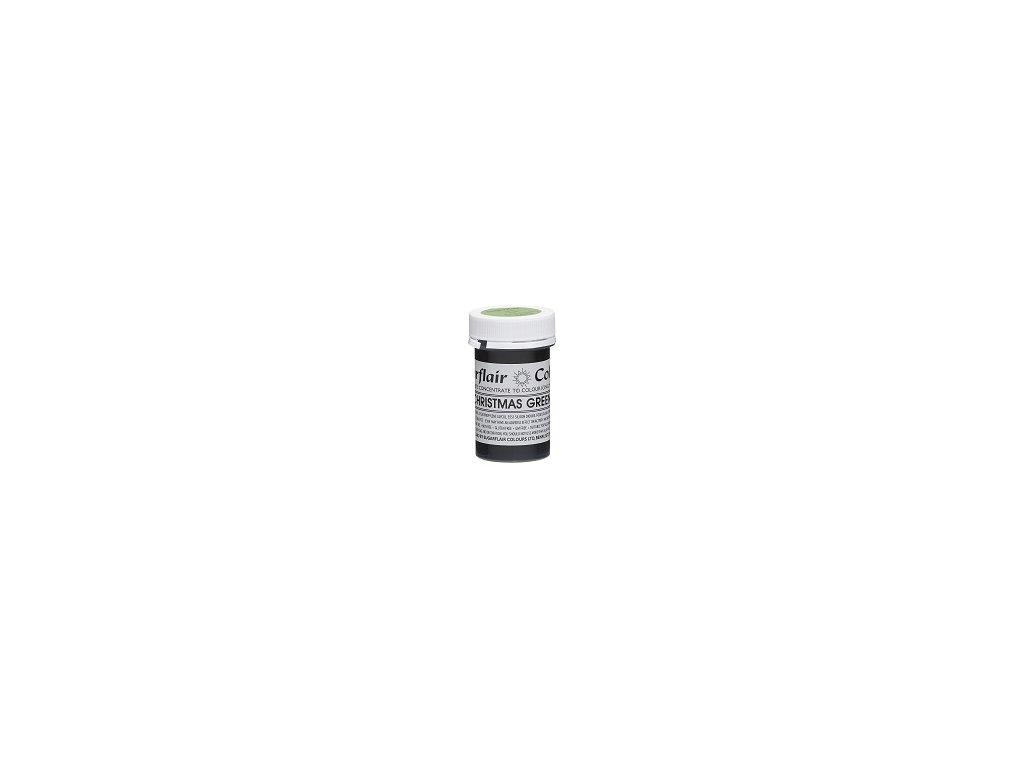 Tartranil Paste Concentrate 25g Christmas Green resized