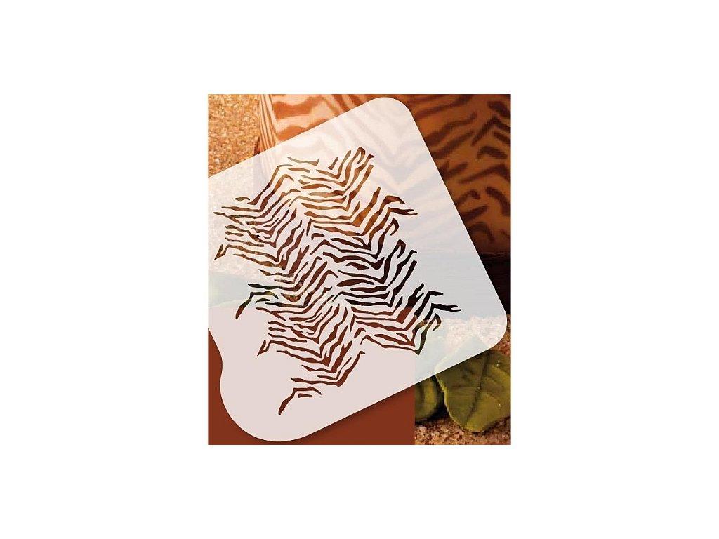 Stencil Martellato - Zebra