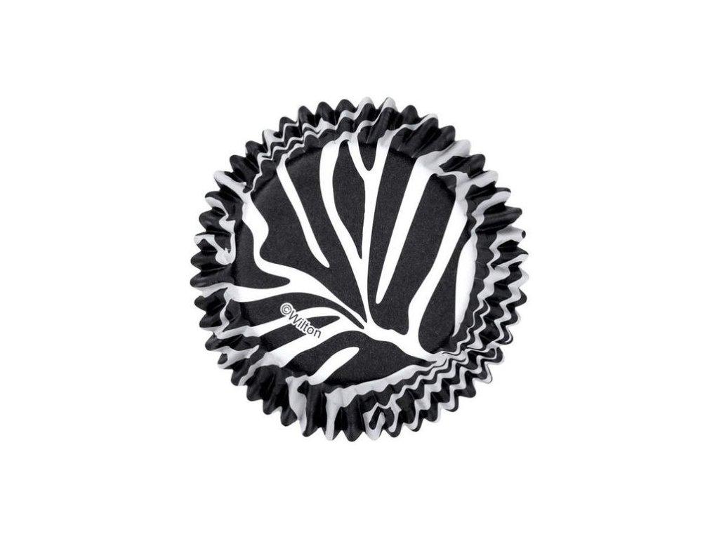 Košíčky Wilton 50 x 32 mm - Zebra