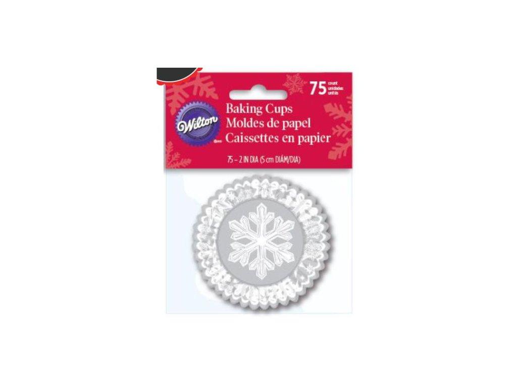 Košíčky Wilton 50x32 mm - Snowflake