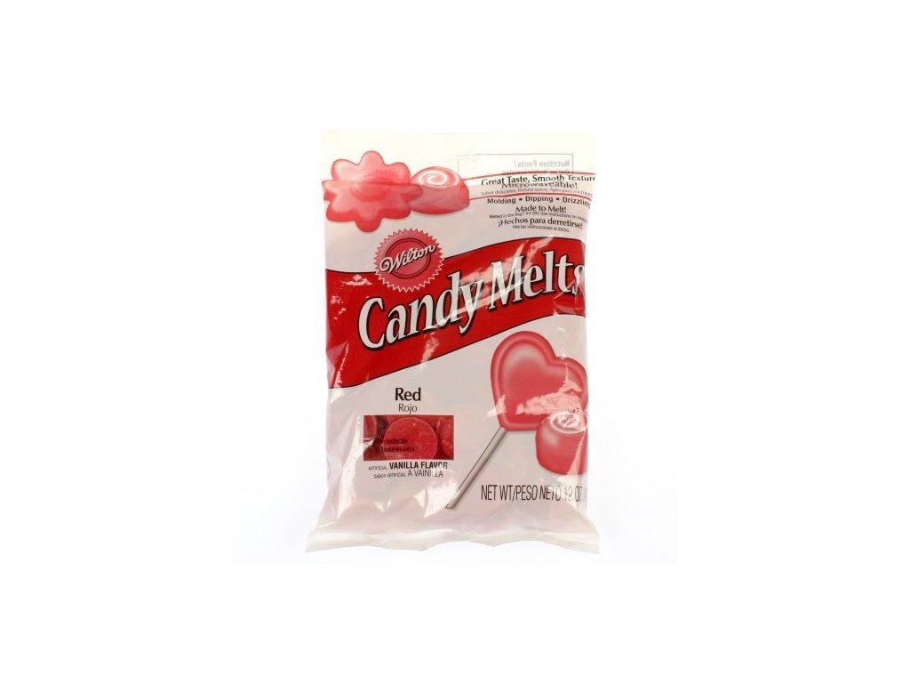 Wilton Candy Melts 340 g - Červená