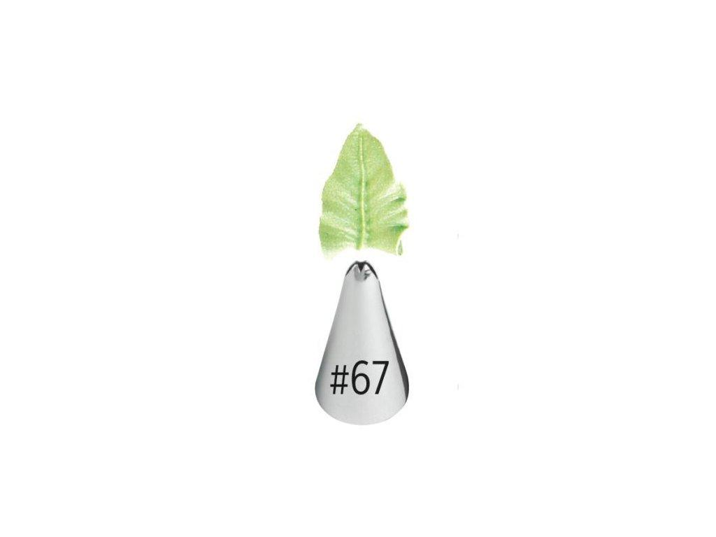 Špička Wilton Leaf - č. 67
