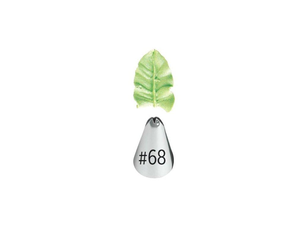 Špička Wilton Leaf - č. 68