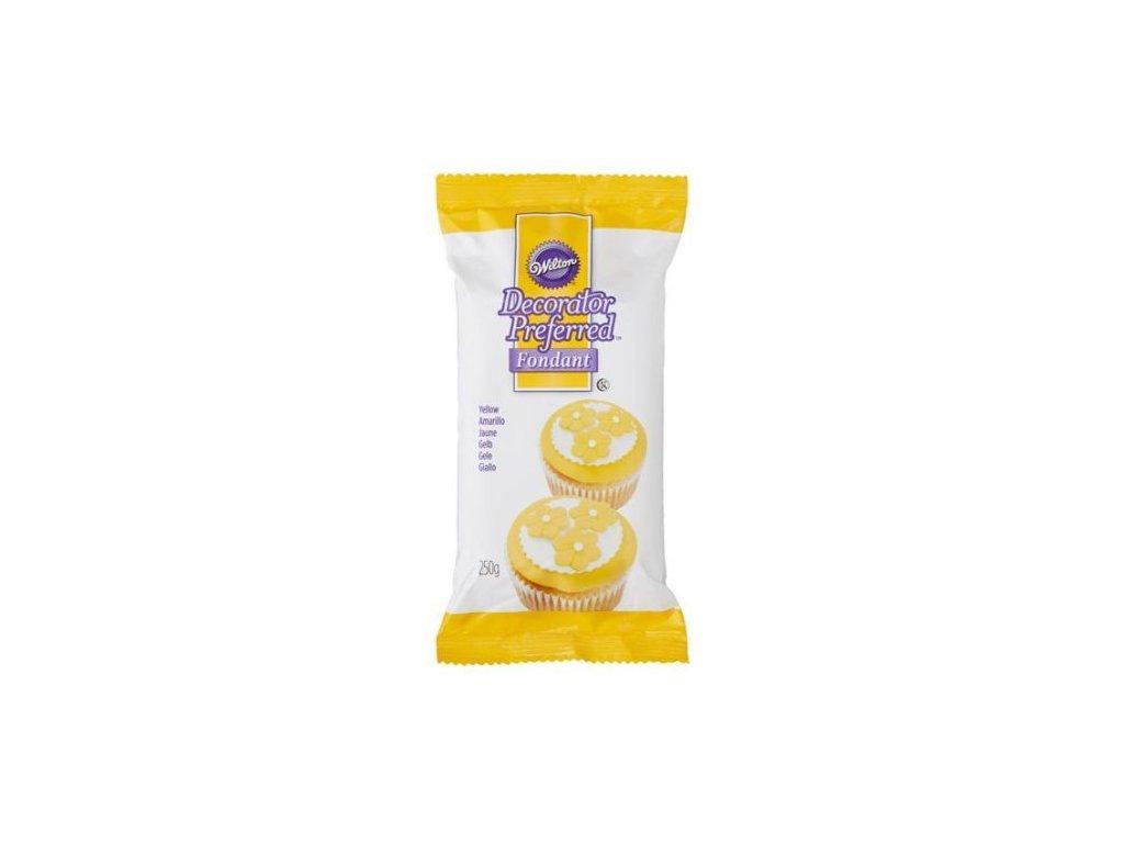 Fondant Wilton 250 g - Žlutý - Expirace 9/2021