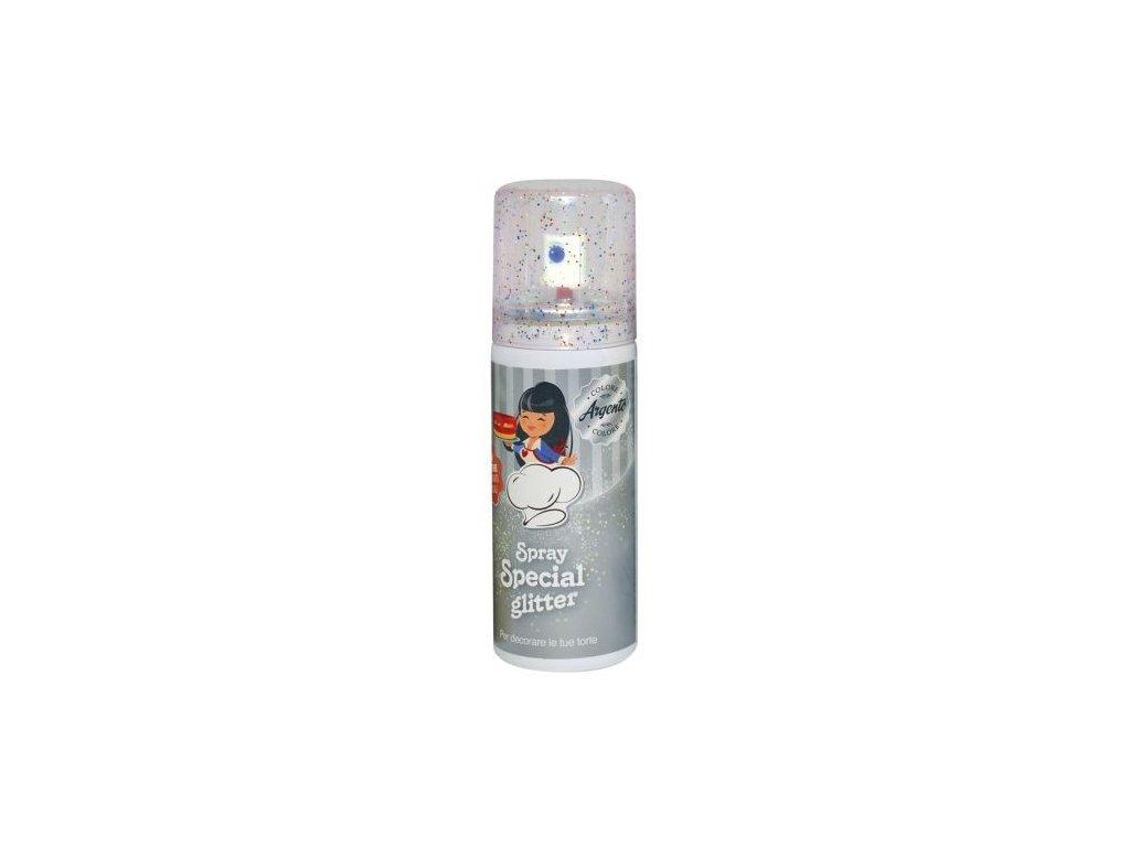 Stříbrný perleťový sprej - 50 ml