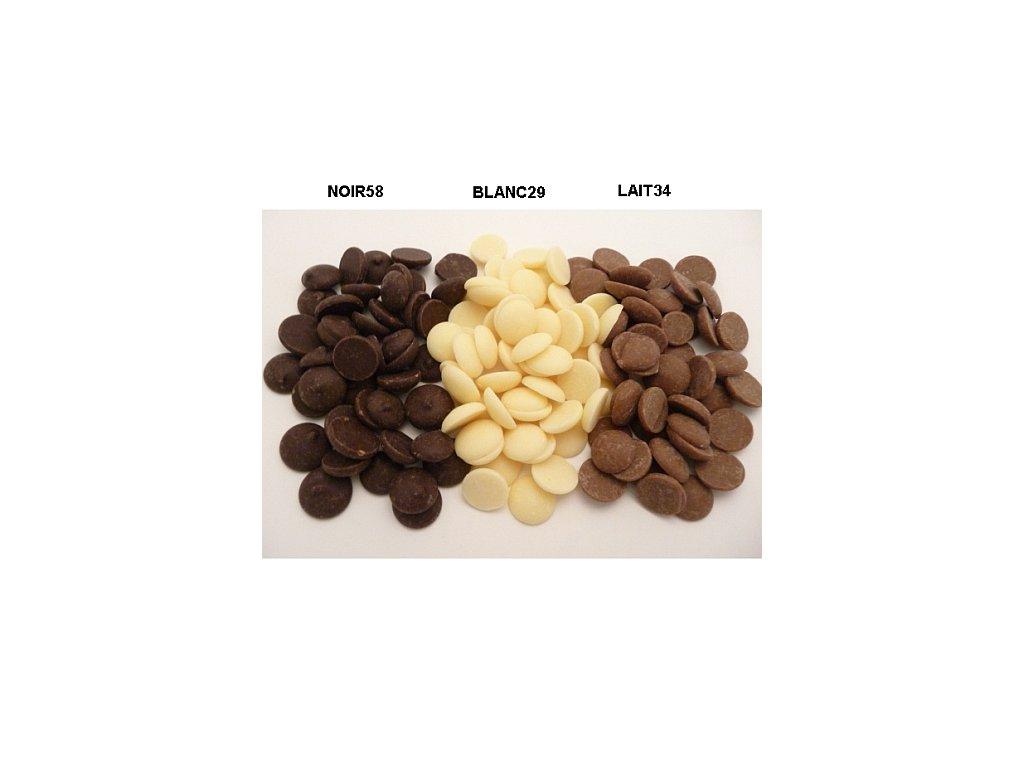 Čokoláda Arabesque BLANC 29% - 5 kg