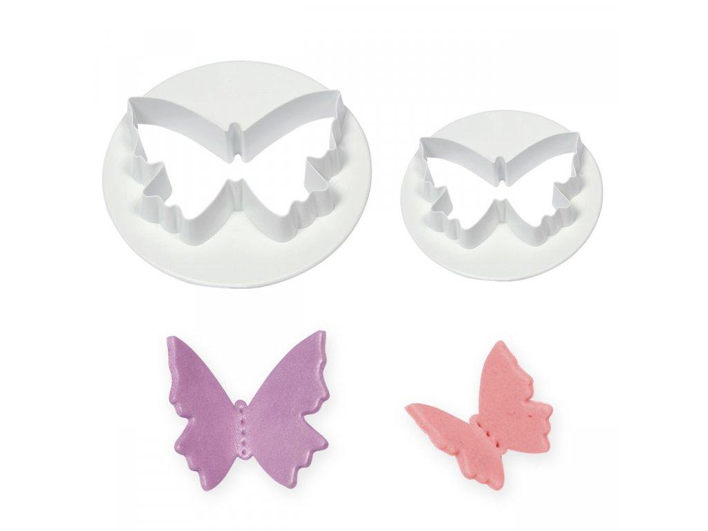 Motýlek - malý + velký
