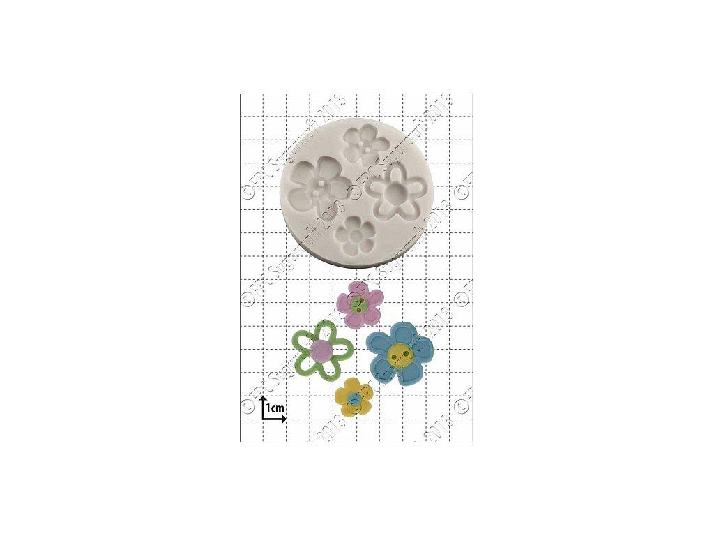 Flower Buttons (Květinové knoflíky)