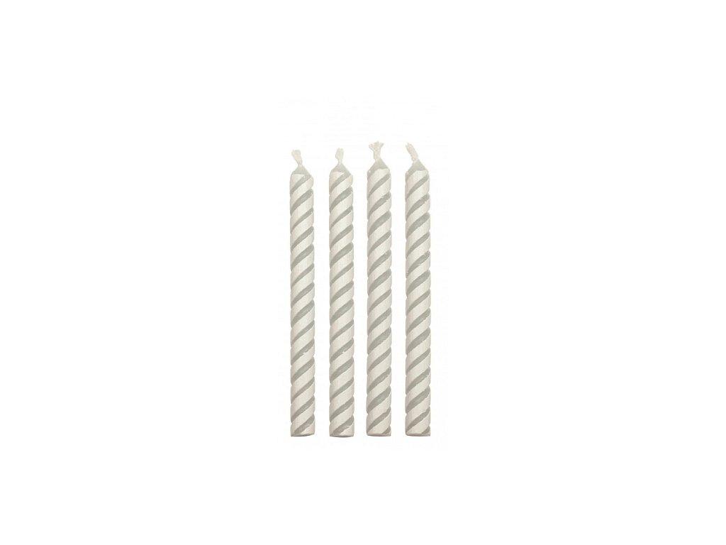 Svíčky PME - bílé 24 ks
