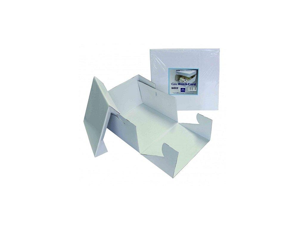Krabice na dort - čtverec 152 mm