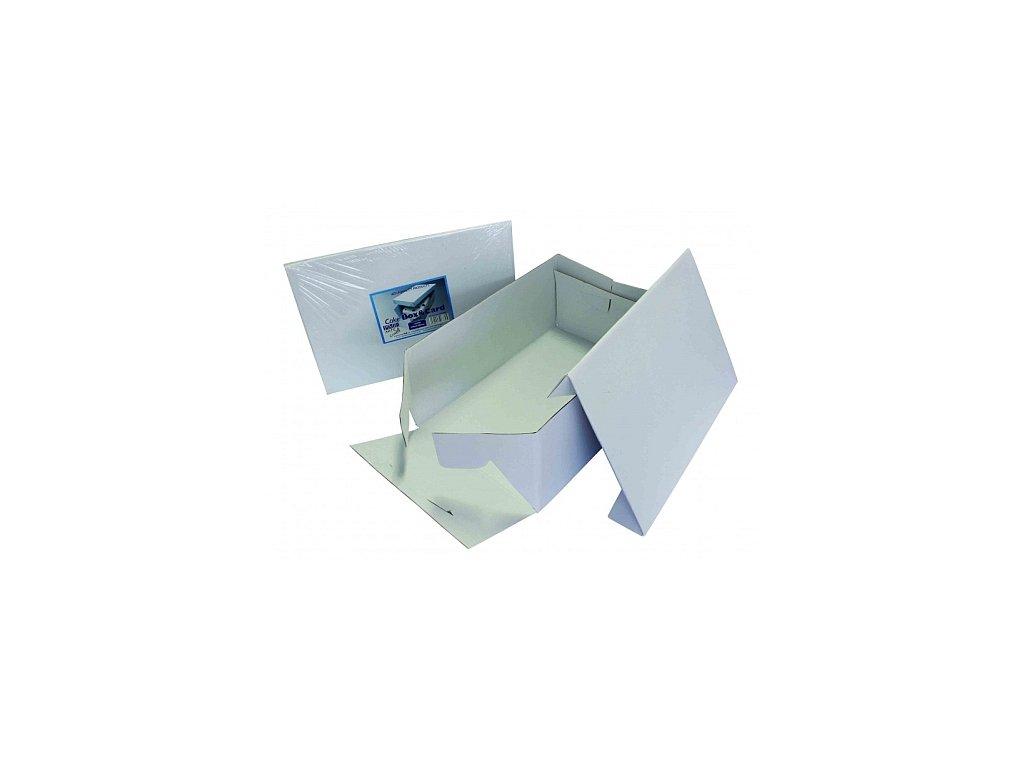 Krabice na dort - obdélník 228 x 330 mm