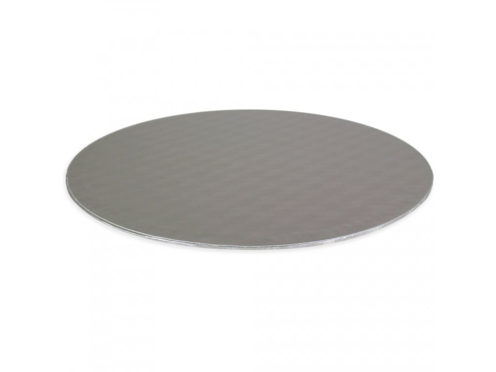 podložka pod dort stříbrná Ø 330 mm
