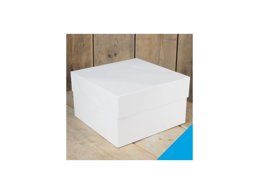 Krabice na dort Fun Cakes - Čtverec 28 cm
