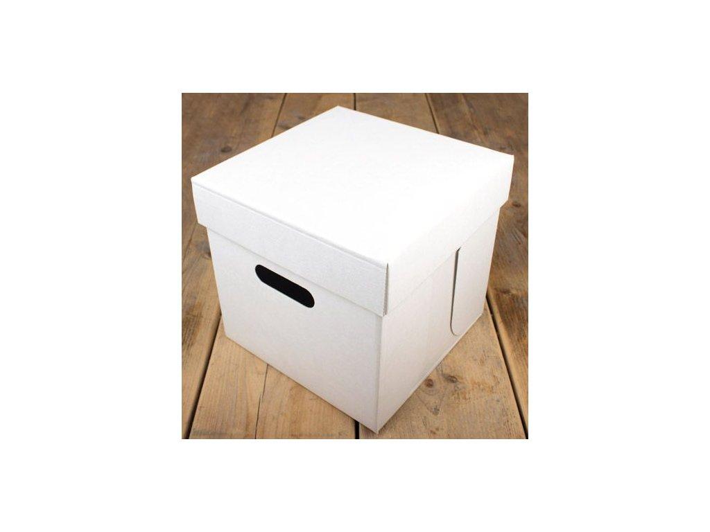 Krabice na patrový dort - 25 x 25 x 25 cm