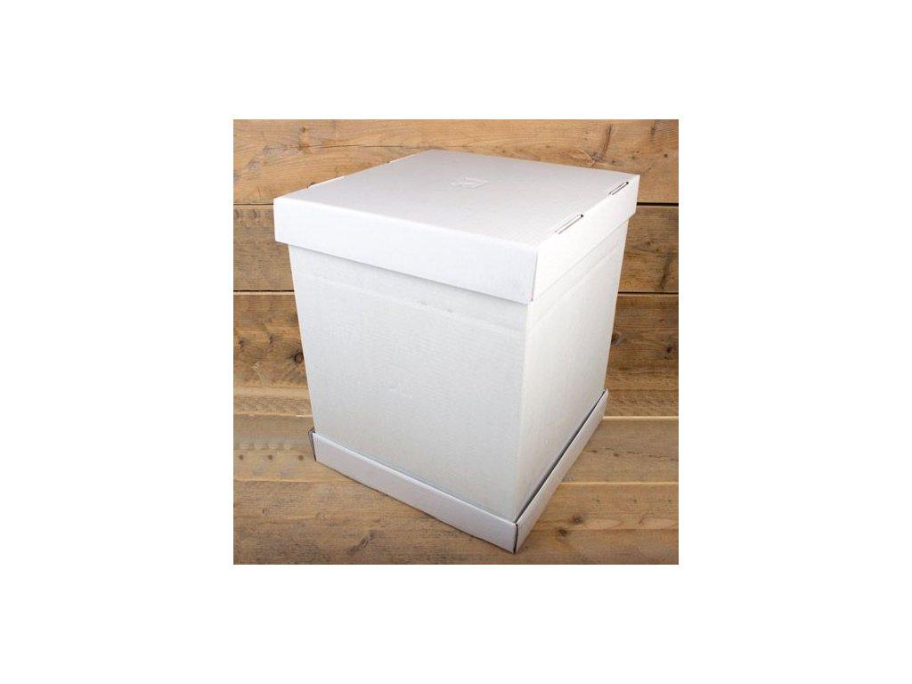 Krabice na patrový dort - 52 x 52 x 70 cm