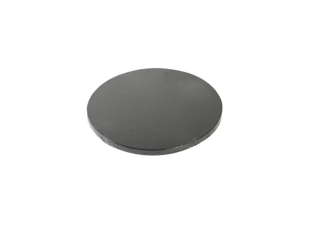 Dortová podložka Fun Cakes - Kruh 25 cm černá