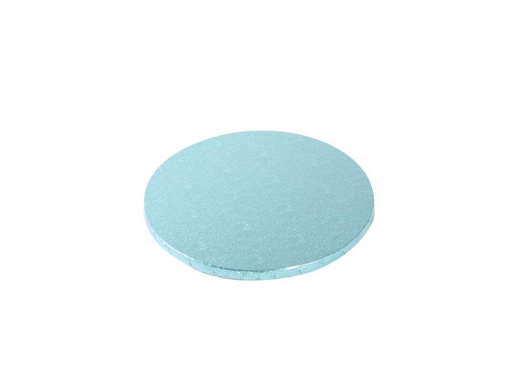 Dortová podložka Fun Cakes - Kruh 25 cm modrá