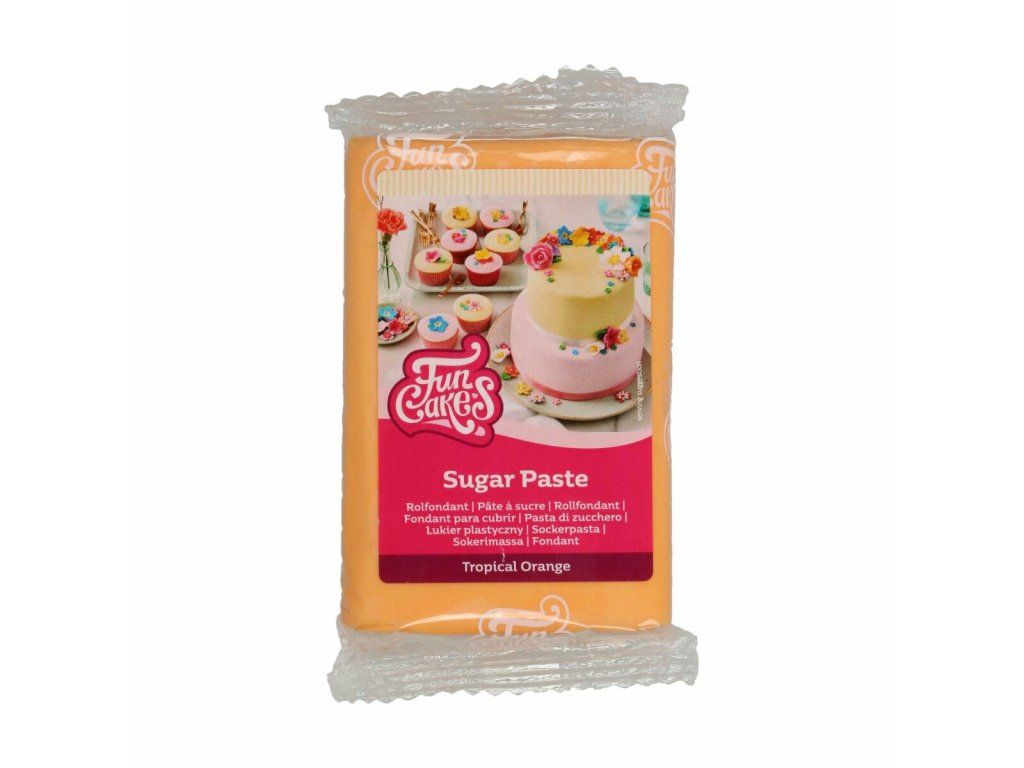 Hmota Fun Cakes 250 g - Tropical Orange