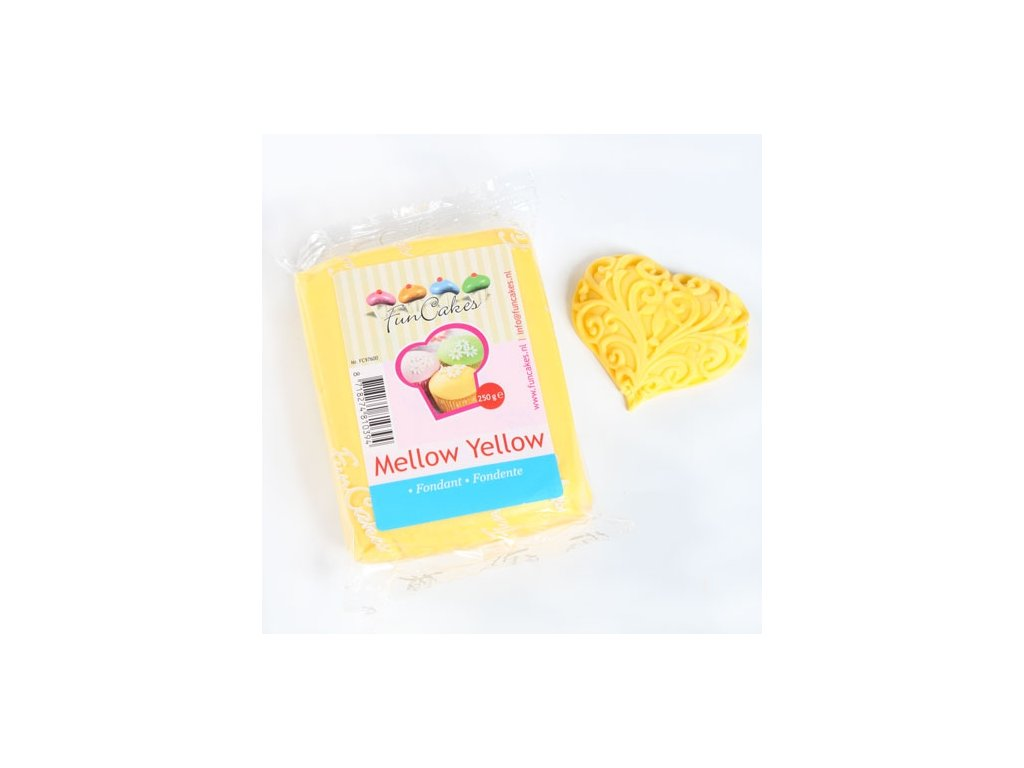 Hmota Fun Cakes 250 g - Mellow Yellow
