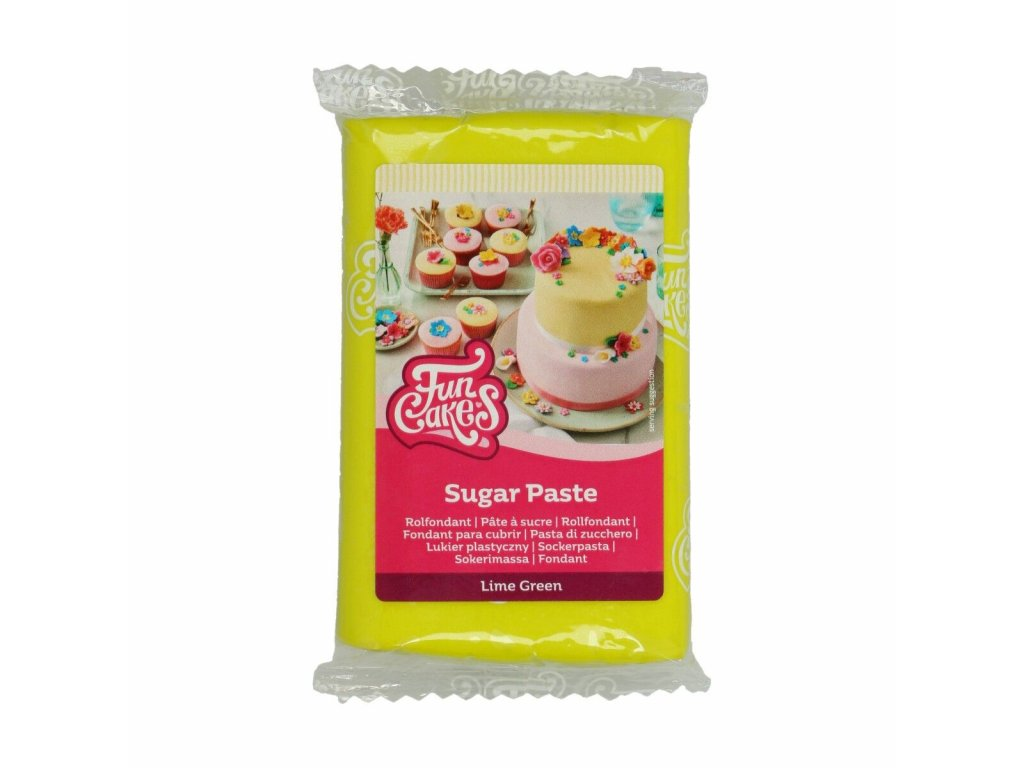 Hmota Fun Cakes 250 g - Lime Green