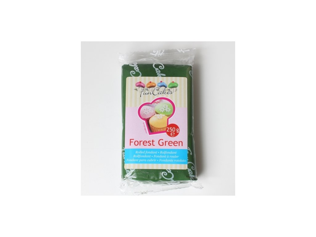 Hmota Fun Cakes 250 g - Forest Green