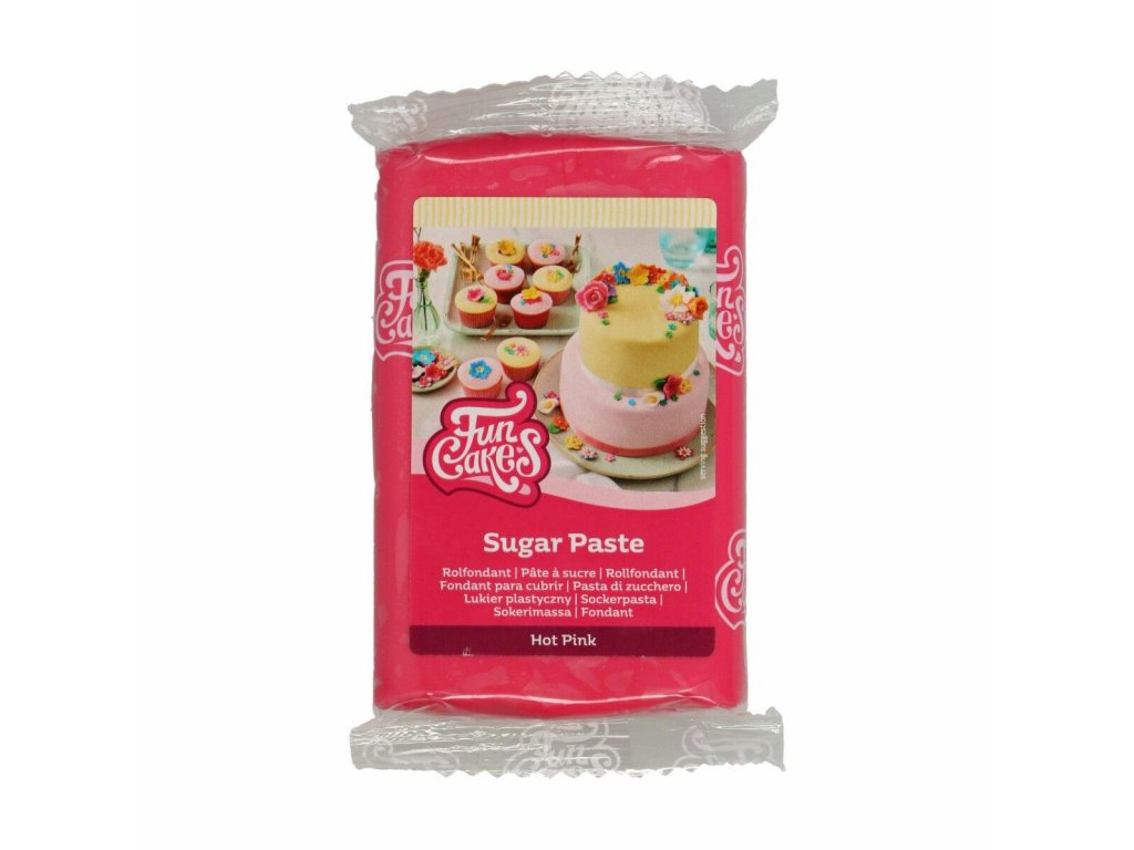 Hmota Fun Cakes 250 g - Hot Pink