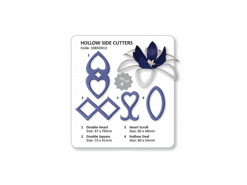 Hollow Cake Side Cutters