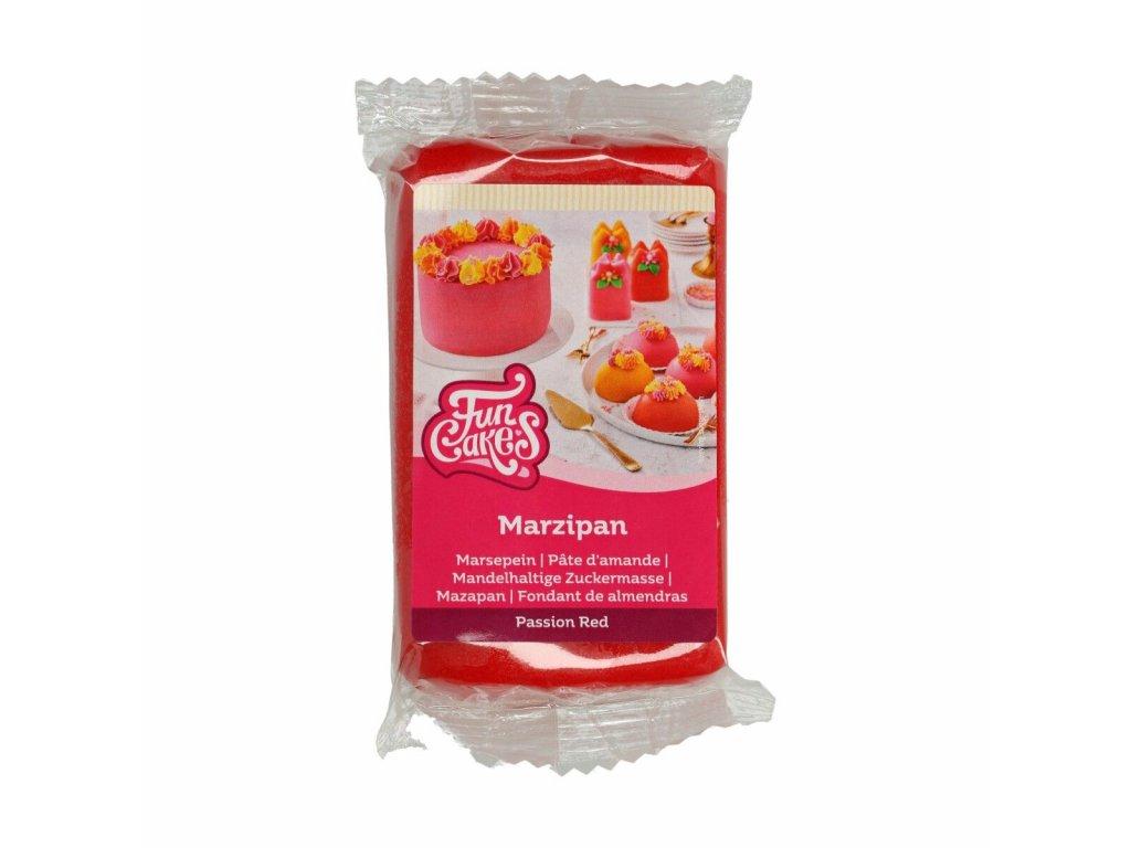 Marcipán Fun Cakes 250 g - červený