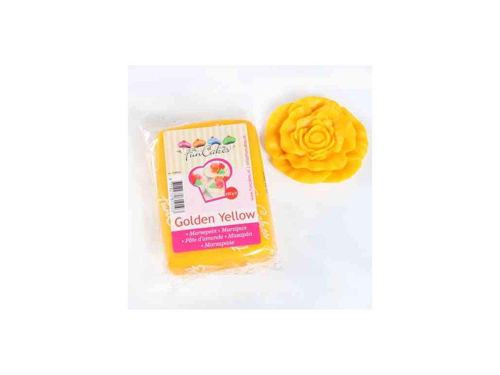 Marcipán Fun Cakes 250 g - žlutý