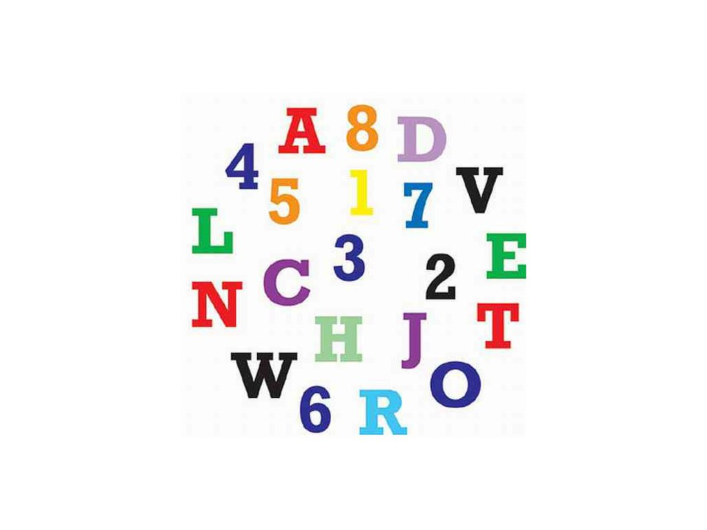 Alphabet & Number - Abeceda a čísla klasik